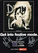 Depeche Mode Signed