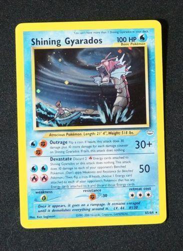 Shining Gyarados: Singles | eBay