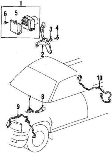 Toyota Abs Module