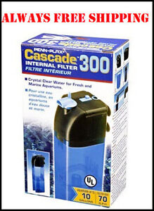 ... about CASCADE 300 SUBMERSIBLE AQUARIUM & AQUATIC TURTLE FILTER. 80GPH