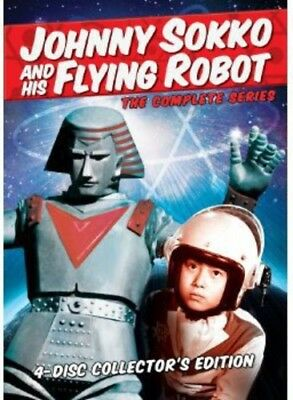 Johnny Sokko and His Flying Robot: The Complete Series [New DVD]