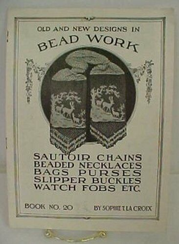 Vintage Beaded Bag Buckles Purses Sautoir Chains & More Sophie La Croix Book 20