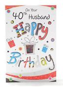 60th Birthday Card Husband