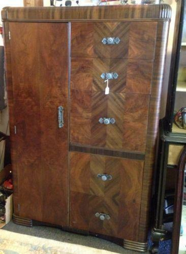 Antique Wardrobe Closet | EBay