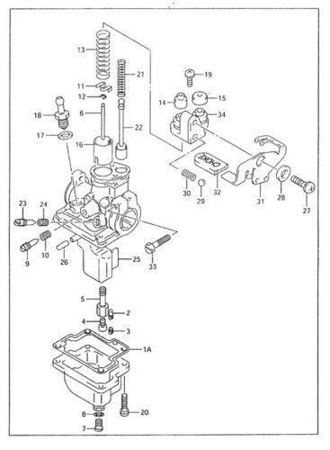 Suzuki Jr 50 Carburetor Diagram