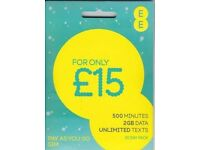 EE - T-MOBILE PAY AS YOU GO SIM CARD- (buy 1 get 1 free