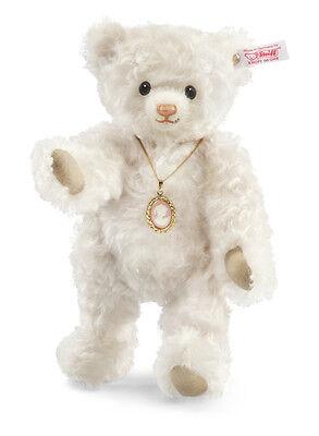 Steiff Teddybär Weiß Beige Carlotta 034736 inkl. Zertifikat 756 Mohair Neu & Ovp