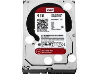 Western Digital WD4002FFWX 4TB RED PRO 128MB 3.5IN SATA 6GB/S 7200RPM New Warranty