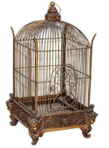 antique victorian bird cage ebay. Black Bedroom Furniture Sets. Home Design Ideas