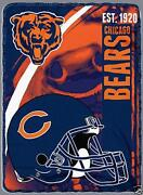 Chicago Bears Blanket