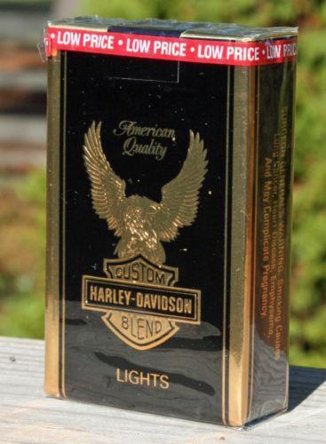 Leather Phone Case >> Harley Davidson Cigarettes | eBay