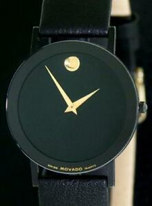 Men's Vintage MOVADO Ultra-Thin Borderless Museum watch