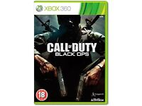 WANTED - CALL OF DUTY BLACK OPS 1 XBOX 360