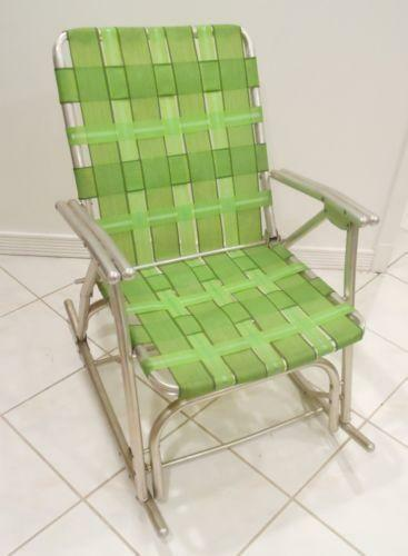 aluminum lawn chair webbing ebay. Black Bedroom Furniture Sets. Home Design Ideas