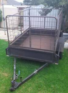 Trailer Hire With Cage 6'X4' $10 for an Hour,