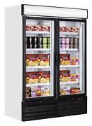 Double Door Freezer