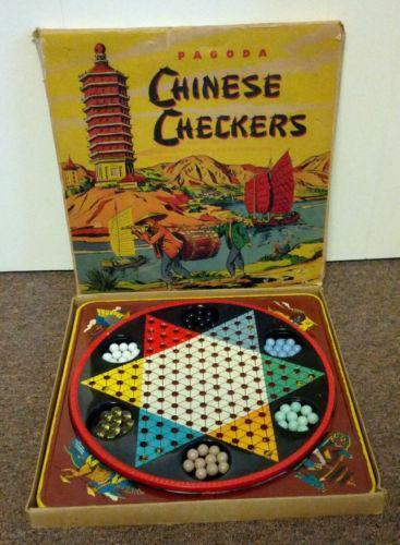Vintage Chinese Checkers Marbles Ebay