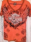 Harley Davidson Womens T Shirt Medium