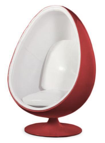 White Egg Chair Ebay