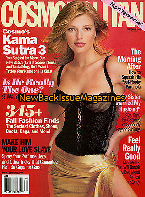 Cosmopolitan 9/00,Bridget Hall,September 2000,NEW