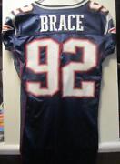Patriots Game Worn Jersey