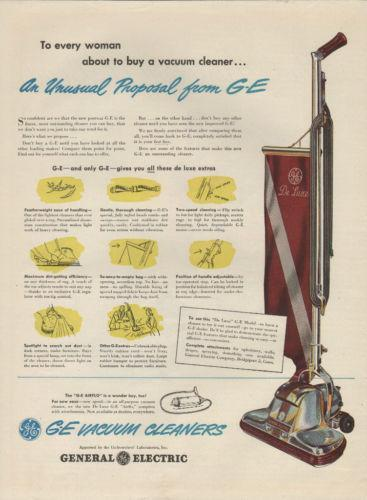General Electric Vacuum Cleaner Ebay