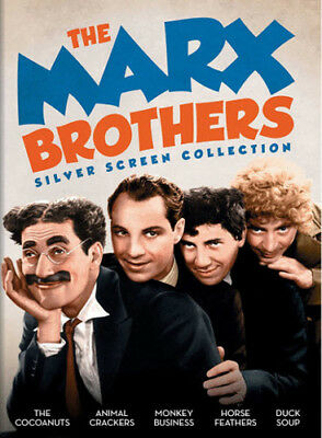 The Marx Brothers Silver Screen Collection [New DVD] 2 Pack, Slipsleeve Packag