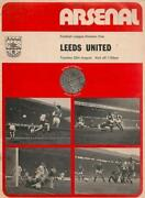 Arsenal V Leeds