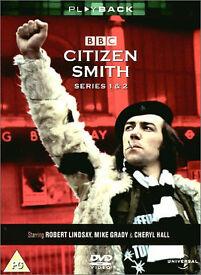 CITIZEN SMITH dvd Boxsets, Series 1, 2, 3 & 4. Robert Lindsay