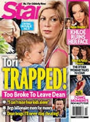 Star Magazine March 10 2014 Tori Spelling Cover Brand New