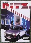 Rover Mini Brochure