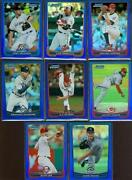 2012 Topps Chrome Blue Lot