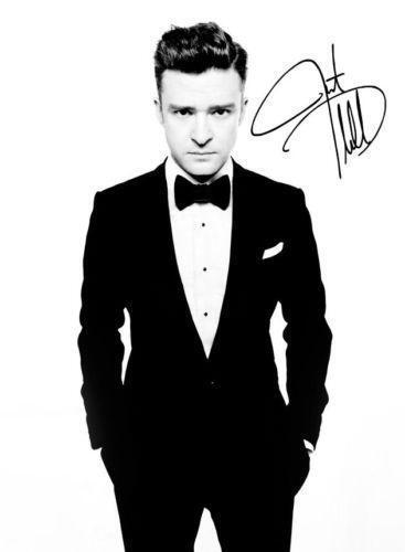 Justin Timberlake Autograph | eBay