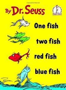 LIKE NEW BOOK - One Fish, Two Fish, Red Fish, Blue Fish