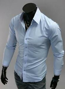 Mens Slim Fit Shirt | eBay