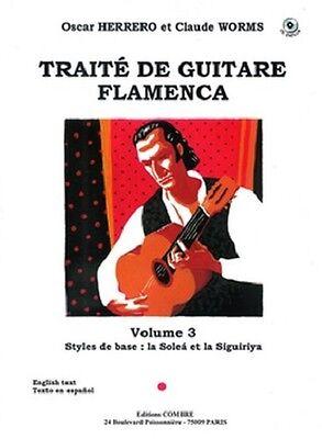 Partition+CD pour guitare - O Herrero C Worms - Traité de Guitare Flamenca Vol 3