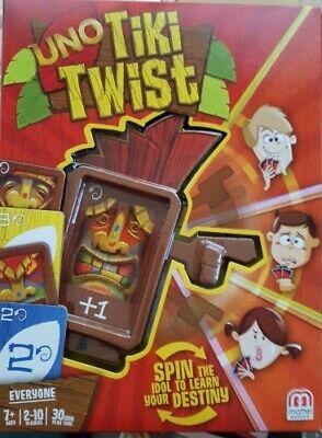 Tiki Uno with a Twist Fun Game Summer Luau Board Table Game - A Luau