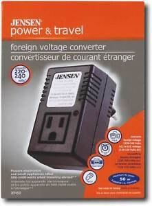 50-WATT International Voltage Converter 220 V TO 110 V JENSEN