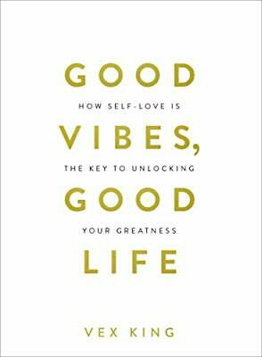 Good Vibes  Good Life by Vex King New Paperback Book