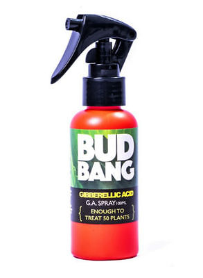 300ml Bottle Bud Bang Gibberellic Acid Treat 150 Plants canna boost accelerator