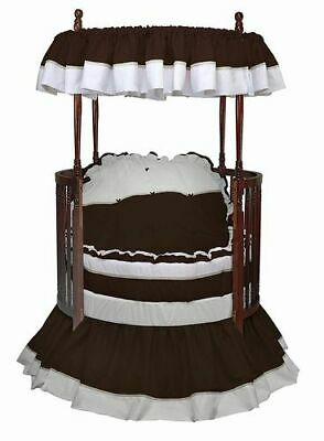 baby doll bedding regal round crib bedding