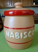Nabisco Cookie Jar