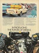 Toyota Diesel Pickup