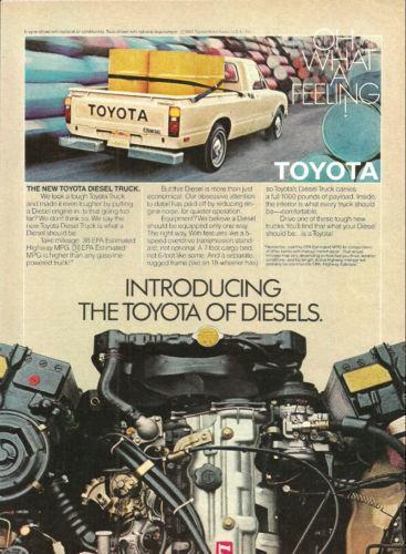 Toyota Diesel Pickup Ebay