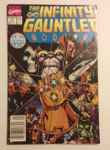 infinity gauntlet 1: comics   ebay