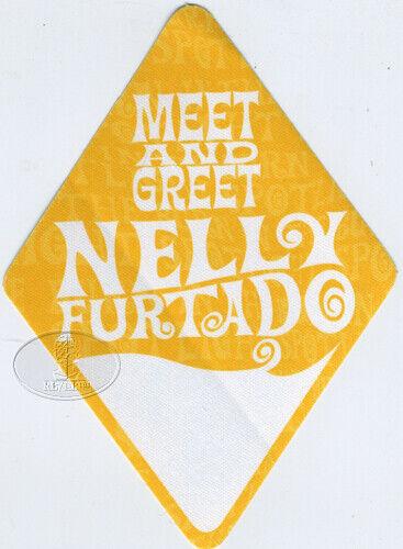 NELLY FURTADO 2002 TOUR BACKSTAGE PASS