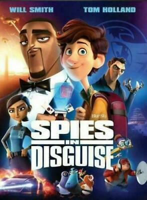 Spies in Disguise [DVD,2020] NEW*Animation* PRE-ORDER FOR  3/10/2020