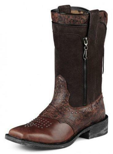 Womens Ariat Square Toe Boots Ebay