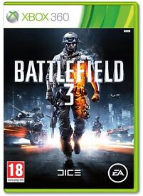 Battlefield 3 for xbox 360 and xbox one