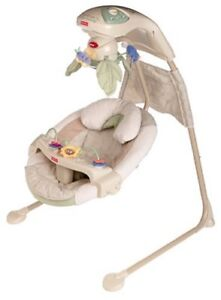 Fisher Price Nature's Touch Cradle Swing / Balancoire